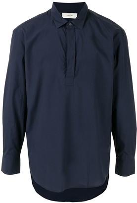 Cerruti Concealed Placket Shirt