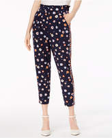 Maison Jules Printed Pull-On Pants, Created for Macy's