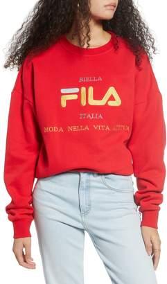 Fila Kimi Graphic Crewneck Sweatshirt
