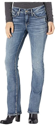 Silver Jeans Co. Elyse Mid-Rise Curvy Fit Slim Boot Jeans L03601SKD205 (Indigo) Women's Jeans