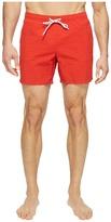 Lacoste Taffeta Gingham Swim Short Length Men's Swimwear