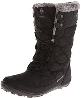 Columbia Women's Minx Mid II Omni-Heat Winter Boot,Black/Charcoal,8.5 M US