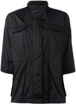 Moncler cropped sleeve military jacket - women - Polyamide/Polyimide - 2