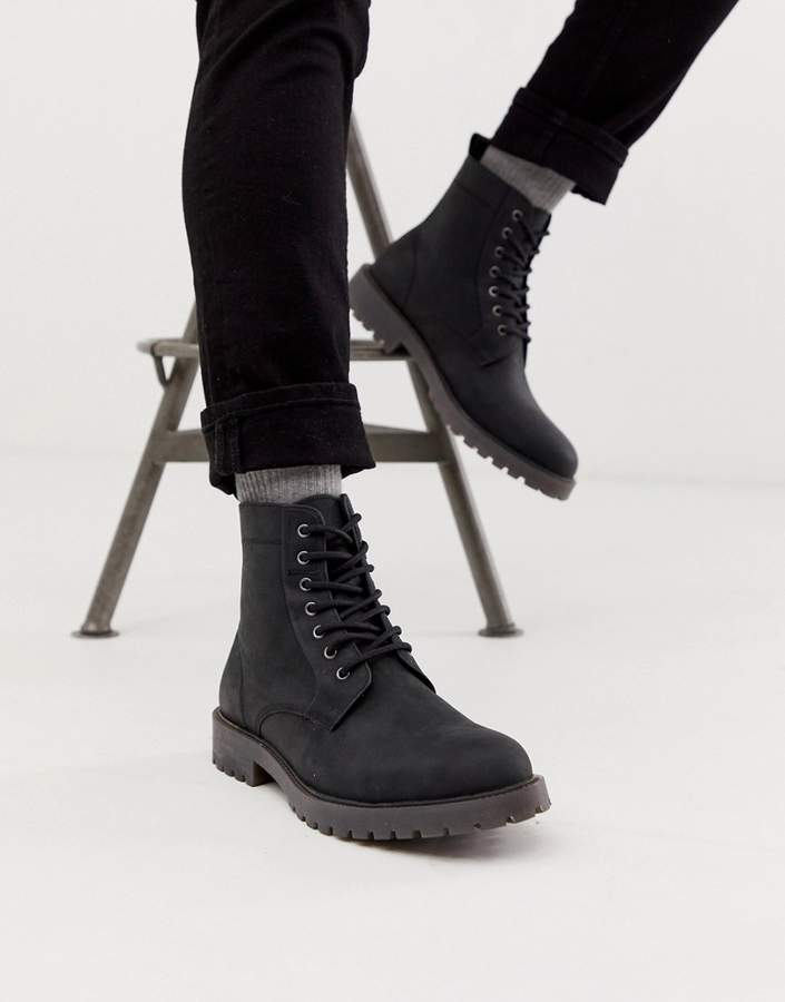 ac1583ea8 Mens Lace Up Boots Leather Sole   over 2,000 Mens Lace Up Boots Leather  Sole   ShopStyle