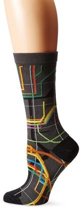 Ozone Women's Vignelli Diagram Sock