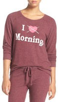 Junk Food Clothing I Hate Mornings Hacci Sweatshirt