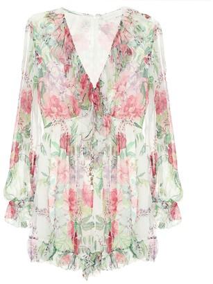 Zimmermann Bellitude floral silk jumpsuit