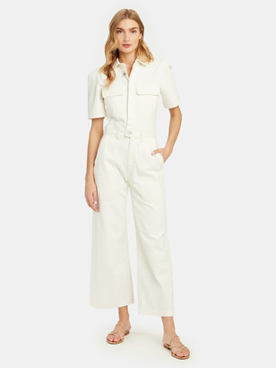 Citizens of Humanity Miki Wide Leg Denim Jumpsuit