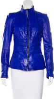 Roberto Cavalli Leather Quilted Jacket
