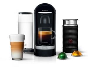 Nespresso by Breville VertuoPlus Deluxe Coffee & Espresso Machine with Aerocinno3