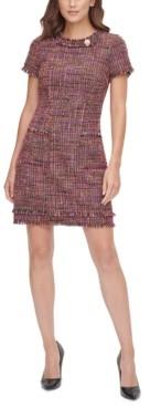 Harper Rose Aline Tweed Shift Dress