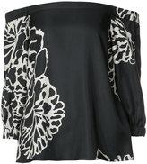 Tibi Orla Bloom blouse - women - Silk - 6