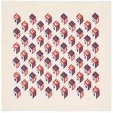 Gucci GG Wallpaper print silk scarf