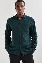 Uo Stevens Emerald Cross-dyed Button-down Shirt