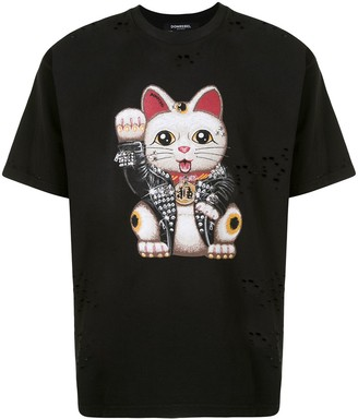Dom Rebel graphic print T-shirt