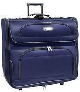 Traveler's Choice Travel Select Amsterdam Rolling Garmet Bag - Blue