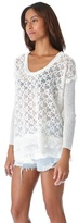 Free People Body Textured Pullover