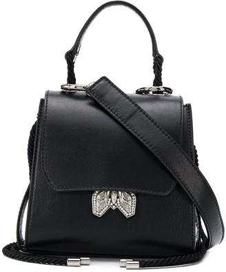 Patrizia Pepe Embellished Bug Tote Bag