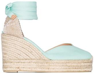 Castaner Chiara 80mm espadrille wedge sandals