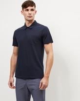 Jaeger Jersey Pique Polo Shirt