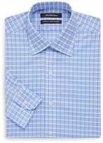 Bill Blass Men's Classic-Fit Checkered Cotton Dress Shirt