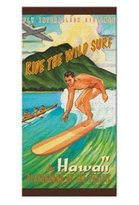 Playground of the Pacific Beach Towel by Aloha Gifts From Hawaii