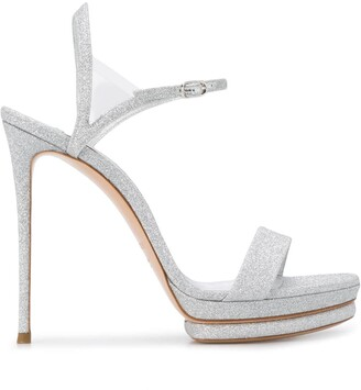 Casadei Sparkle Detail Sandals