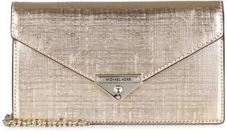 MICHAEL Michael Kors Grace Leather Clutch