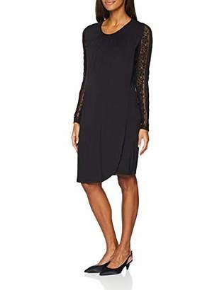 Mama Licious Mamalicious Women's Mlkirsten Iris L/s Jersey Abk Dress Nf,16 (Size: X-Large)