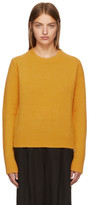 Studio Nicholson Yellow Wool and Cashmere Sweater