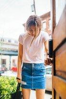 Free People Corsette Mini Skirt