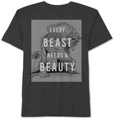 JEM Men's Beauty and the Beast Every Beast Needs Graphic-Print T-Shirt
