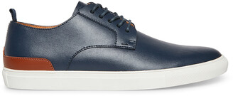 Steve Madden Coltt Navy Leather