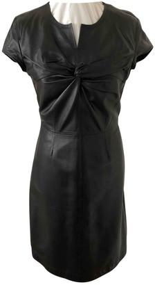 Gianfranco Ferre Black Leather Dress for Women