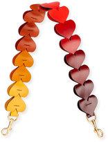 Anya Hindmarch 16 Hearts Link Strap for Handbag in Honey Citrus