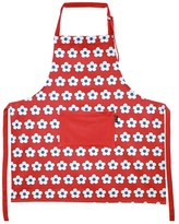 Christopher Vine Red Cotton Bud Apron