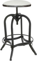 JCPenney Tanner Adjustable Antiqued Iron Barstool