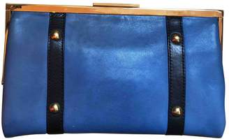 Marni Blue Leather Clutch bags