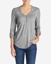 Eddie Bauer Women's Mercer Knit Henley Shirt