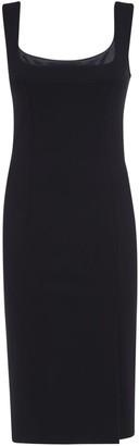 Dolce & Gabbana Rear Zip Sleeveless Slim Dress
