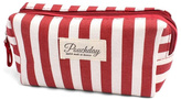 Riah Fashion Striped Cosmetic Pouch