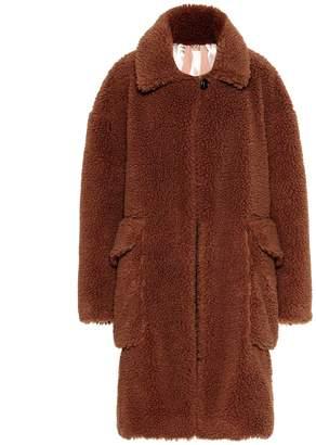 N°21 Wool-blend teddy coat