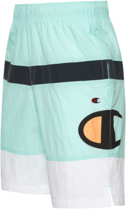 Champion Woven Shorts - Green / Black