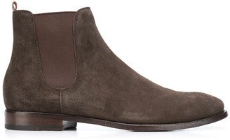 Buttero suede Chelsea boots