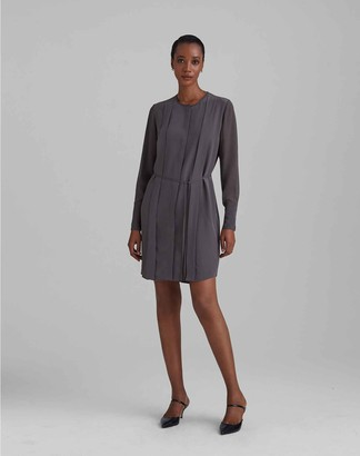 Club Monaco Silk Shirt Dress