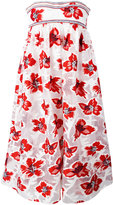 Tory Burch floral print dress - women - Cotton/Polyester/Viscose - 8