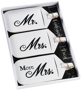 Lillian Rose Mr. & Mrs. Luggage Tag - Set of Three