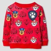 PAW Patrol Toddler Boys' Paw Patrol Printed Sweatshirt - Red