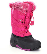 Kamik Snowgypsy Girls' Faux Fur Cold Weather Waterproof Boots