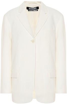 Jacquemus Moyo single-breasted blazer